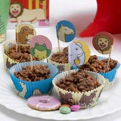 Neviti Dear Zoo Cupcake Cases and Picks. Delivery is Free