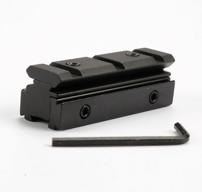 Tactical Rifle Scope Mount Base Adapter 10mm/11mm to 20mm Weaver Picatinny Rail