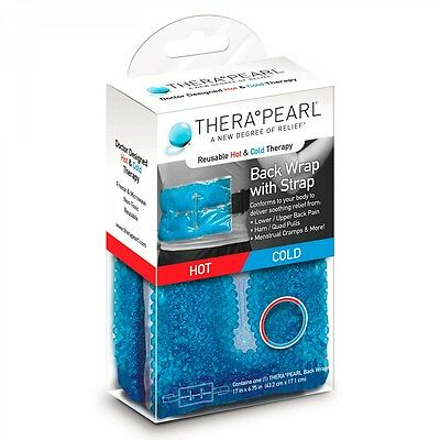 THERA PEARL Reusable Hot & Cold Therapy Back Wrap With Strap