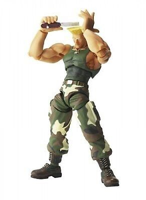 Revoltech Guile Import Kaiyodo Online S0719 Japan Street Fs Fighter 7bfgvY6y