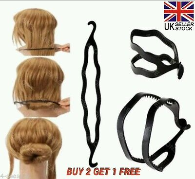 Magic Hair Donut Hassle Free Ballet Bun Styling Twist Up Accessory Tool