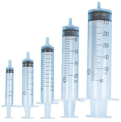 BD Plastipak Sterile Syringes (No Needle) 1ml 2ml 5ml 10ml 20ml 30ml