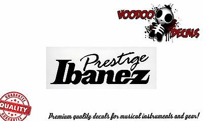 Ibanez Prestige Guitar Headstock Vinyl Decal