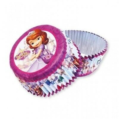 Sofia The First Birthday Party Foil Cupcake Cases x 24. Best Price