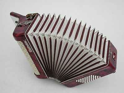Excellent Weltmeister Accordion 40 bass and original case .