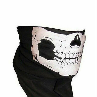 Bike/Military/biker/Skull FACE MASK fishing hunting archery tactical snood buff