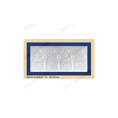 Wall Andalusi - Plaster - 89 x 41 cm