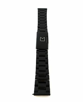 Modal 20mm Watch Band - Black - MD-SWBM20 - Stainless Steel