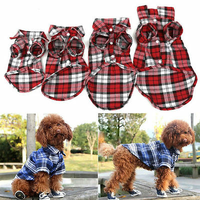 Cute Dog Puppy T-Shirt Suit Cotton Clothes Apparel Coats Top for Small Pet Shirt