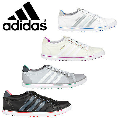 Adidas Womens W Adicross Ladies Spikeless Golf Shoes- 4 Colour Options - New