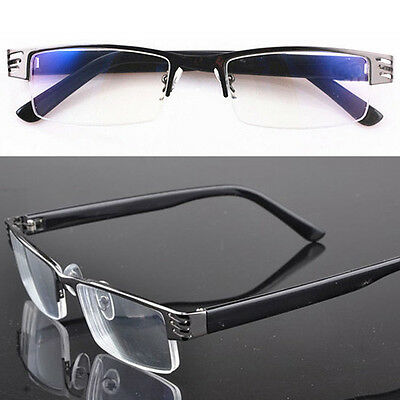 Reading Glasses Hot Coating Metal Half-Frame Reading Glasses 1.0 To 4.0 Eyewear