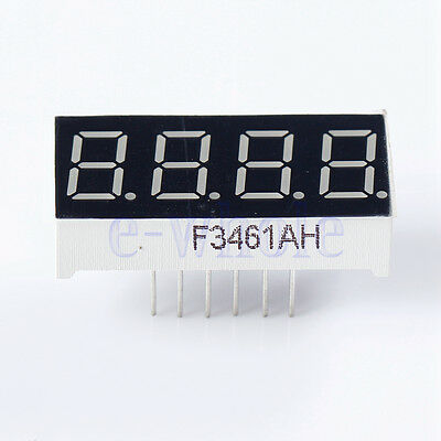 7 Segment Display 05 Inch Yellow Jaycon Systems