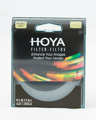 HOYA Infrarot Filter IR (R72) 46,49, 52, 55, 58,62, 67, 72, 77, 82mm Infrared