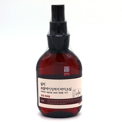 ILLI Total Aging Care Body Oil 150ml/5.0oz