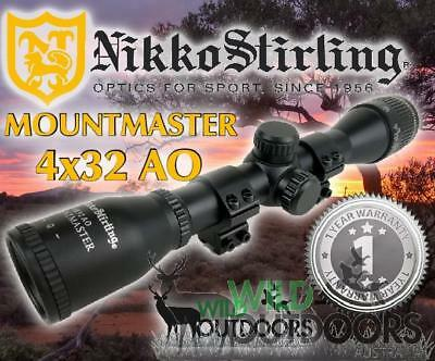 Nikko Stirling - Rifle Scope - MountMaster - 4x32mm - Air & Rimfire
