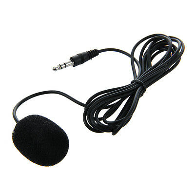 3.5mm Clip on Lapel Microphone for PC Laptop S*