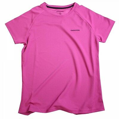 Craghoppers Womens Basecamp T Fuschia - size 10 Only