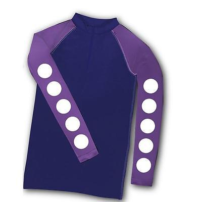 NEW Carrots Kids XC Top Purple Spot Sizes 7 - 12 Years