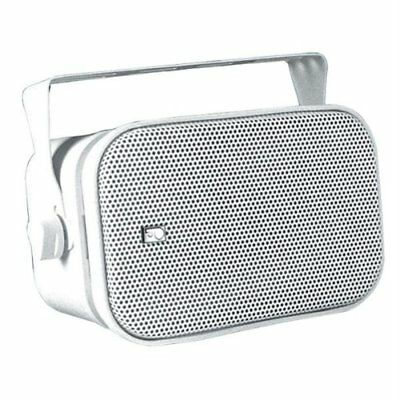 PolyPlanar MA800WW 7-1/2-Inch x 5-Inch Rectangular Marine Box Speakers (Pair)