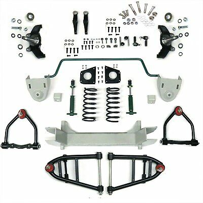 Mustang II 2 IFS Front End kit for 36-50 Cadillac w Shocks Springs Swaybar