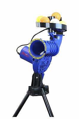 Paceman Pitch Attack Cricket Bowling Machine 7 Balls Included Free Postage