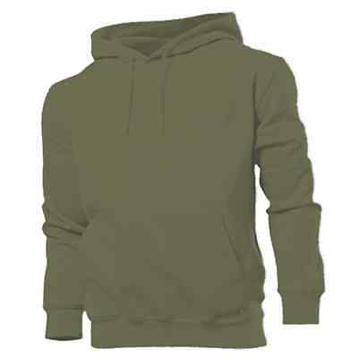 PLAIN OLIVE GREEN HOODIE fishing hunting angling clothes
