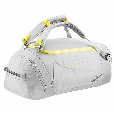 Kathmandu Shuttle 40L Convertible Backpack Cargo Duffel Travel Bag v4 Grey