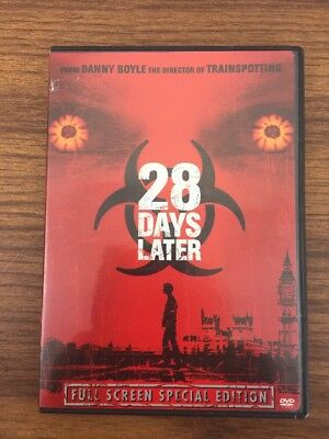 28 Days Later DVD Full Screen Special Edition. V1