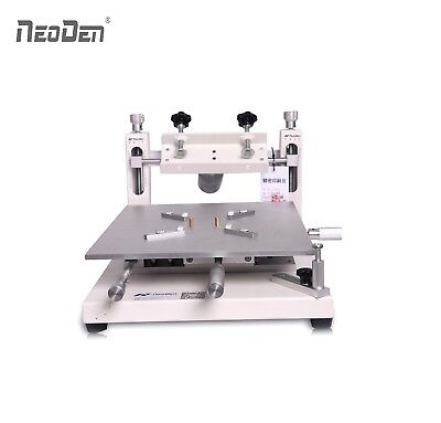 NeoDen Stencil Printer PM3040 SMD Manual Solder Printer Accuracy Adjustable Axis