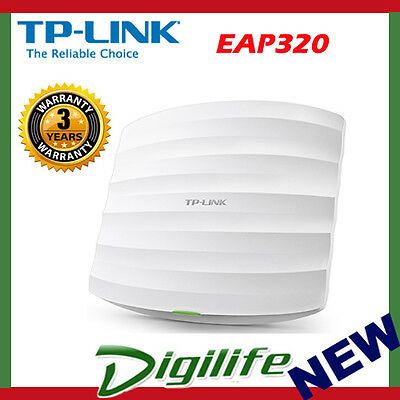 TP-Link EAP320 AC1200 Wireless Gigabit Ceiling Mount Business Access Point POE