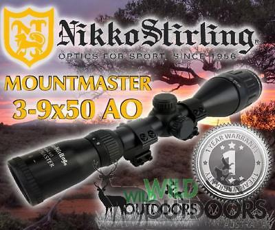 Nikko Stirling - Rifle Scope - MountMaster - 3-9x50mm - Air & Rimfire