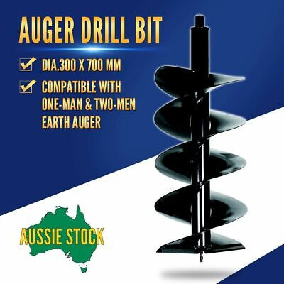 Earth Auger Drill Bit 300x700mm Post Hole Borer Ground Drilling
