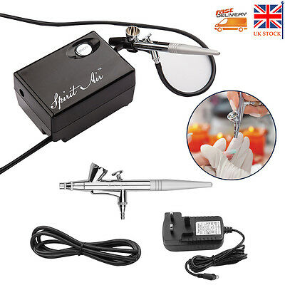 0.4mm 2cc Mini AirBrush Compressor Air brush Kit Spray Tattoo Nail Art Paint Gun