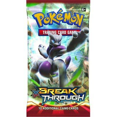Pokémon XY Break Point 10 Trading Card Booster Pack