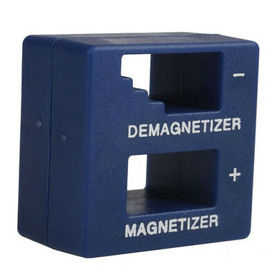 New Magnetizer Demagnetizer For Screwdriver Tips Screw Bits Magnetic Tool