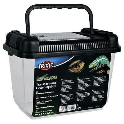 Reptile Amphibian Transport Feeding Breeding Box Insect Live Food Ventilated Box