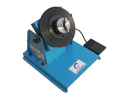 New 10KG Light Duty Welding Turntable Positioner 2-16rpm with 65mm Chuck 220V H