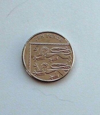UK 2014 Royal Shield Of Arms 10p Ten Pence Coin Uncirculated