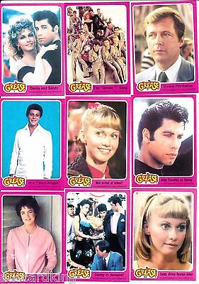 Grease - Series 1 - Trading Card Set (66) - 1978 TOPPS - NM