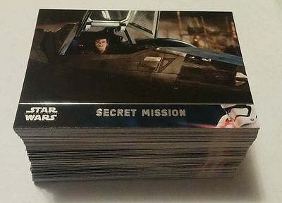 Star Wars Force Awakens Serie 2 Mini Master Set #2 (170 Cards)