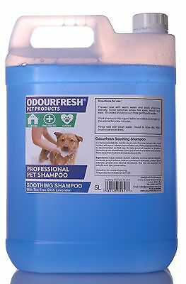 PROFESSIONAL DOG SHAMPOO - Soothing Shampoo for Itchy Skin ODOURFRESH GROOMING