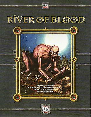 RIVER OF BLOOD-Dungeons & Dragons-D&D-d20-RPG-Roleplaying Game-(SC)-new