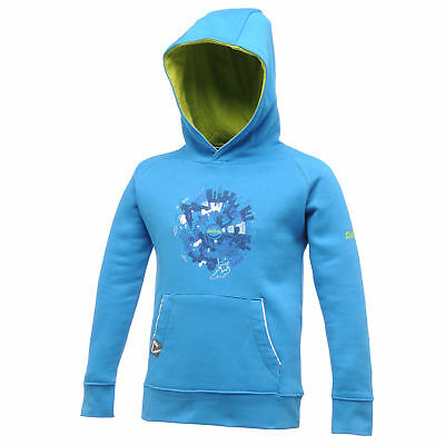 Dare 2B Kids Youth Graphic Hood Pluto Blue - Age 9/10