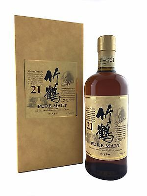 Nikka Taketsuru 21yo Blended Pure Malt Whisky 700ml 43%