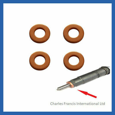 Ford Focus 1.8 TDCI Delphi Diesel Injector Seal / Washer Pack of 4