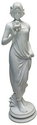 Ancient Greek Mythological Goddess Of Flowers And Nature Bonded Marble Sculpture