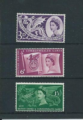 wbc. - GB - MOUNTED MINT - COMMEMS - 1958 - COMMONWEALTH GAMES - CARDIFF