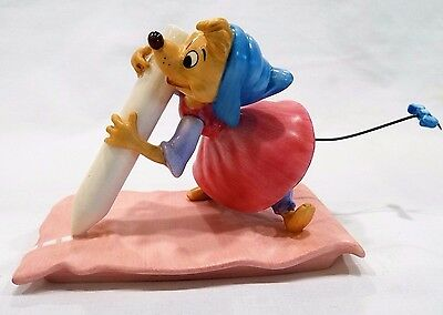 "WDCC ""No Time For Dilly-Dally!"" Cinderella Chalk Mouse Box and COA"