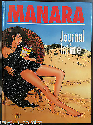 Journal Intime Milo Manara Hardcover Graphic Novel FRENCH LANGUAGE 2803502828