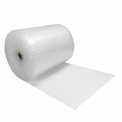 """Bubble Cusioning Wrap Roll 24"""" Wide x 100' ft - Medium 5/16"""" Bubbles perforated"""